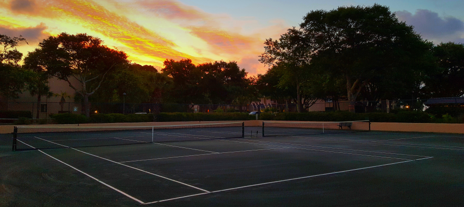 Hit the courts with the pros!